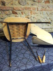 refection_en_cours_atmolybom_restauration_chaise_design_pierre_guariche
