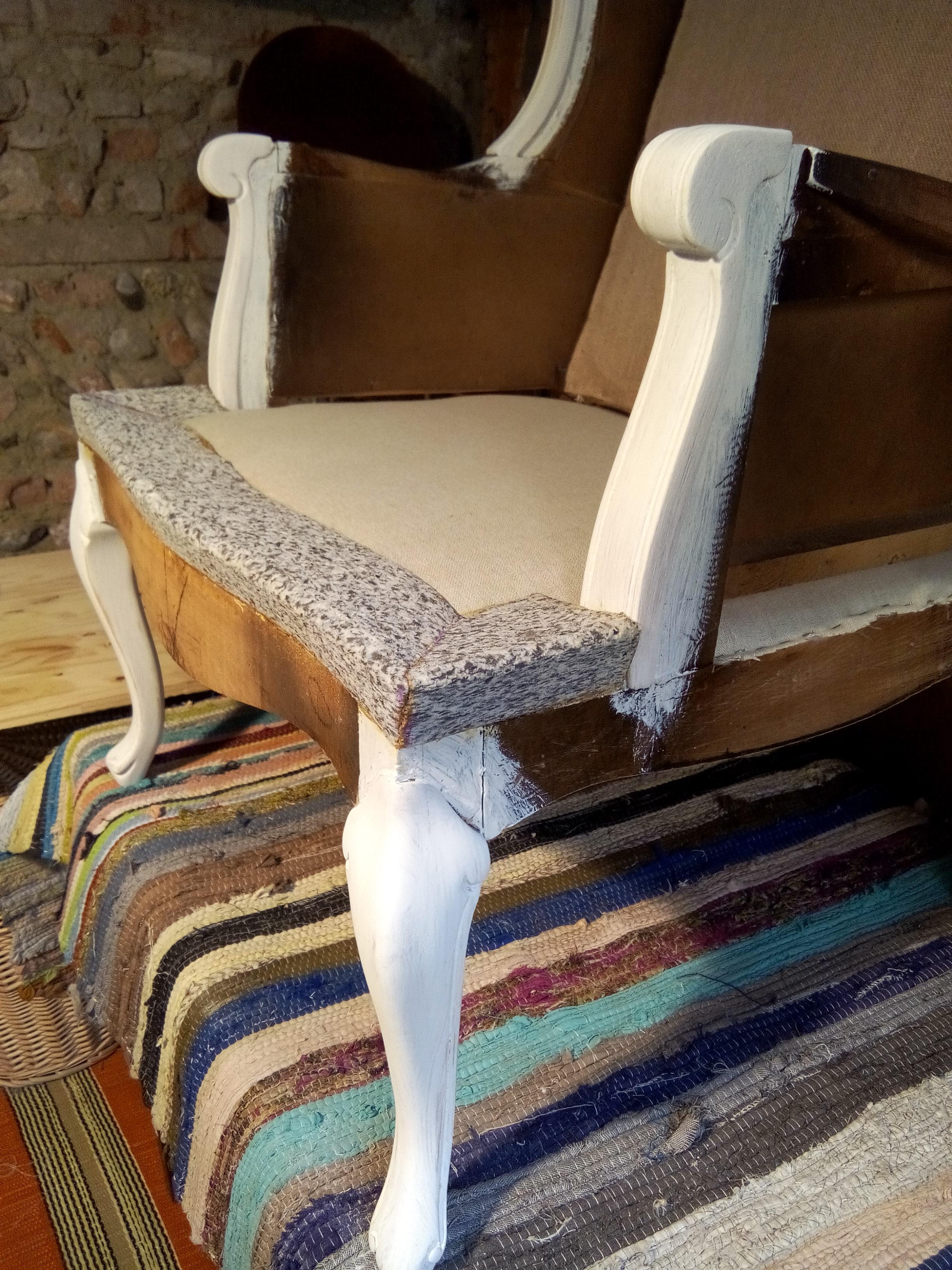 conception berg re oreilles louis xv en mousse at moly b m tapisserie d 39 ameublement. Black Bedroom Furniture Sets. Home Design Ideas