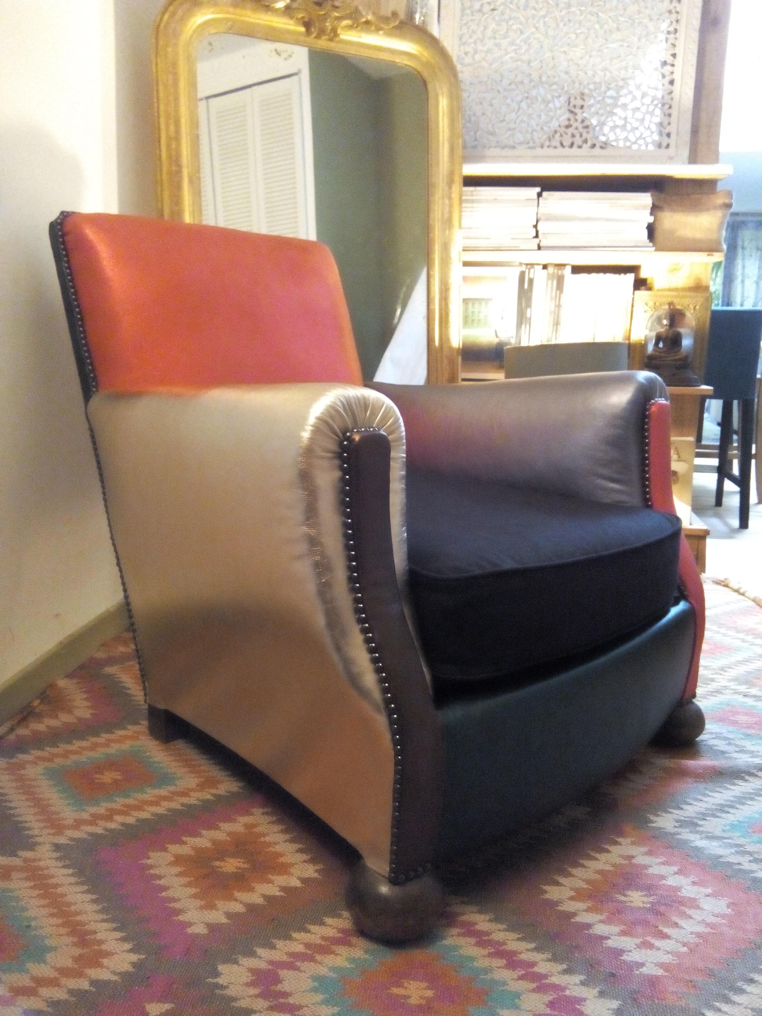 Fauteuil Club A Restaurer c'est l'histoire d'un fauteuil… – at moly bô.m – tapisserie