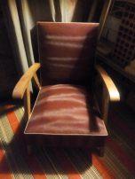 fauteuil 60's chiné