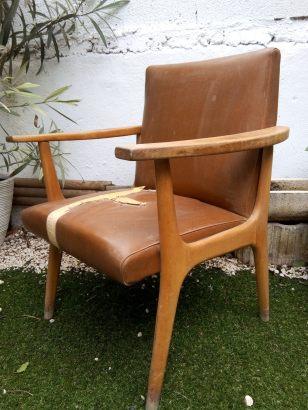 fauteuil chiné