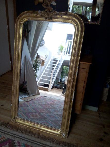 miroir chiné