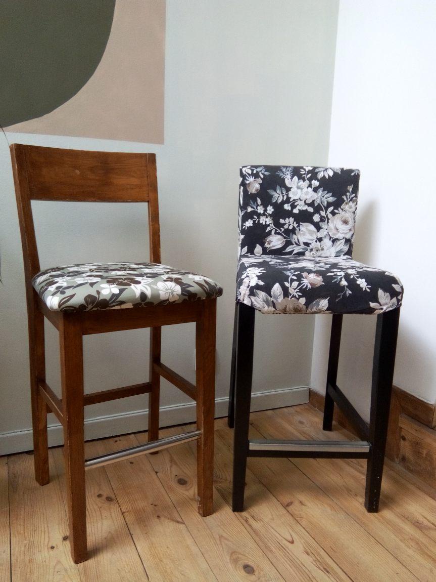 chaises-hautes-refection-en-tissu-floral-atmolybom-tapisserie-d-ameublement